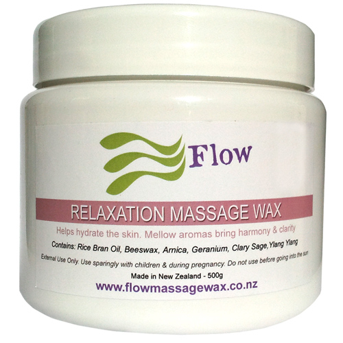 how to make massage wax