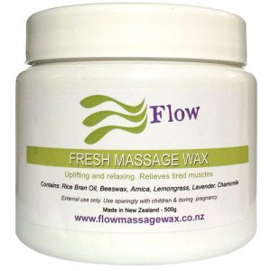 Fresh Massage Wax ideal for massage for beginners
